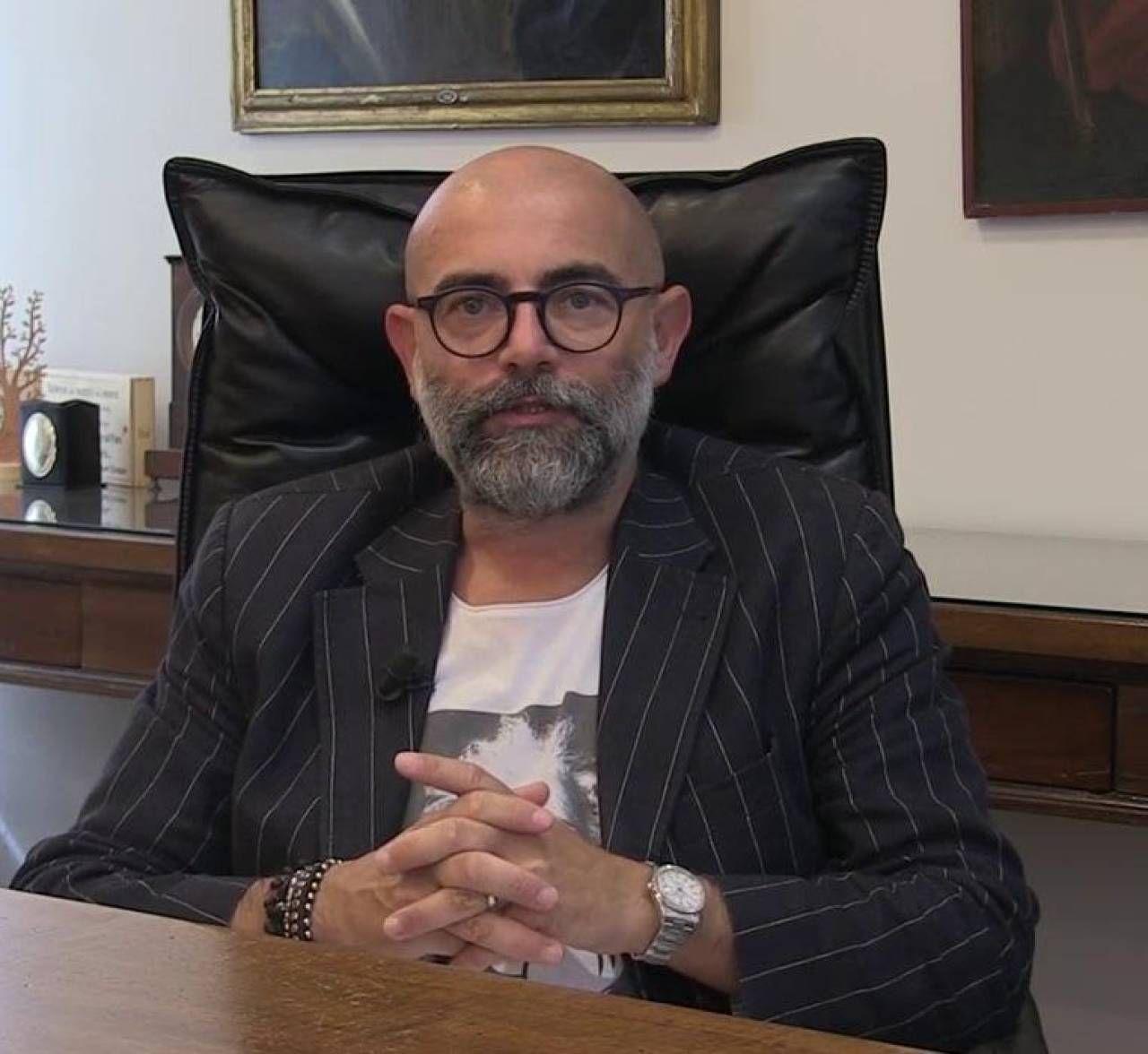 Il direttore generale del Pio Albergo Trivulzio Giuseppe Calicchio, 44 anni