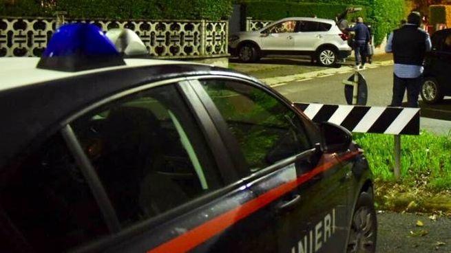 I carabinieri a Bonate