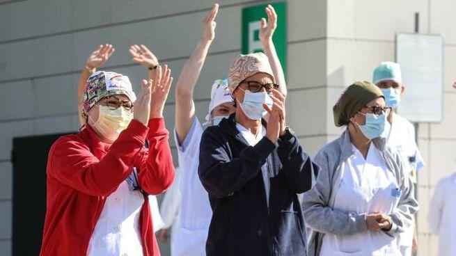 Emergenza in frenata: il sollievo di medici e infermieri all'ospedale di Empoli (Germogli)