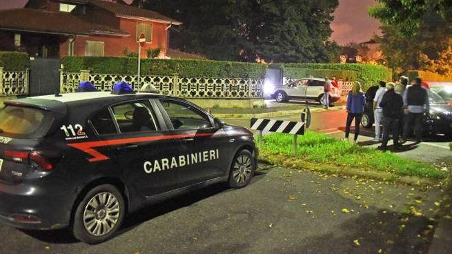 Carabinieri a Bonate
