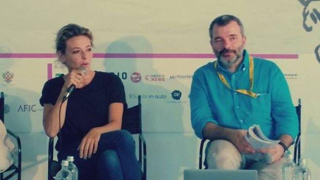 Il direttore Pedro Armocida con l'attrice Jasmine Trinca in una delle scorse edizioni