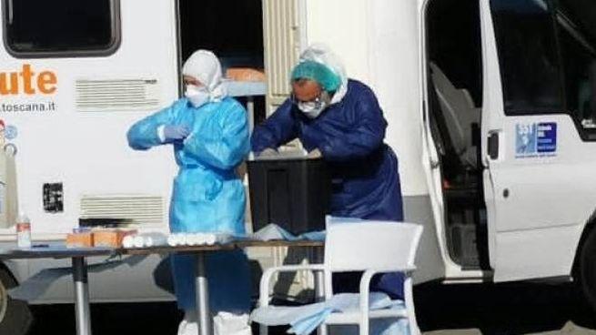 Test coronavirus all'Elba
