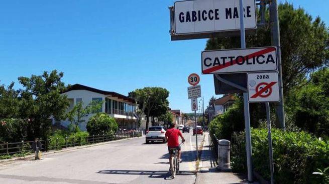 Gabicce Mare e Cattolica, solo un ponte separe le province di Pesaro-Urbino e Rimini