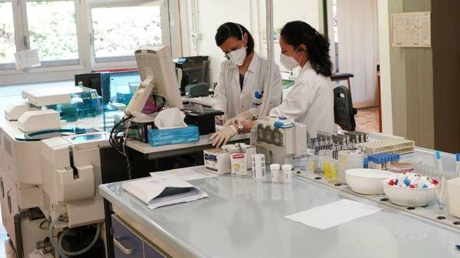 Test Coronavirus in laboratorio (FotoFiocchi)