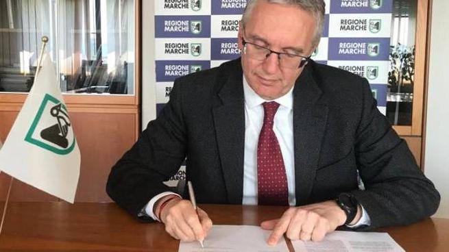 Spostamenti Marche Abuzzo, Ceriscioli firma il decreto (Foto Dire)