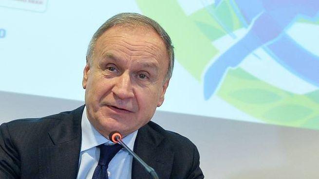 Gianni Petrucci (Ansa)