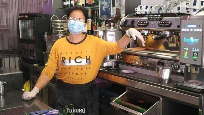 Angela Latini gestisce il Dolce vita lounge bar in via Roma