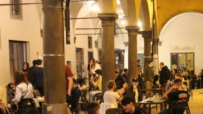 Movida in piazza delle Vettovaglie