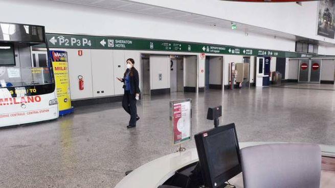 Malpensa Terminal 1 deserted