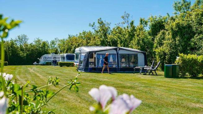 Un camping (Ansa)