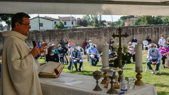 San Mauro a Signa, la messa all'aperto (Germogli)