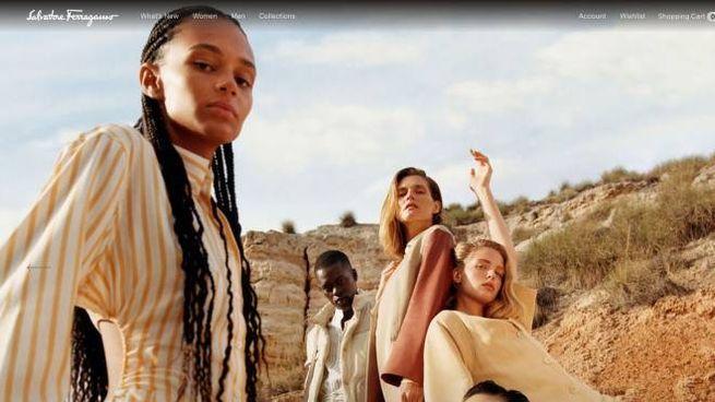 Un'immagine dal sito www.ferragamo.com