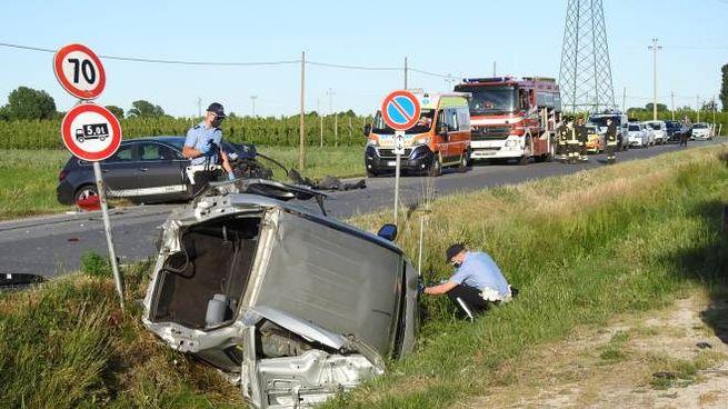L'incidente si è verificato nel tardo pomeriggio di oggi (Scardovi)