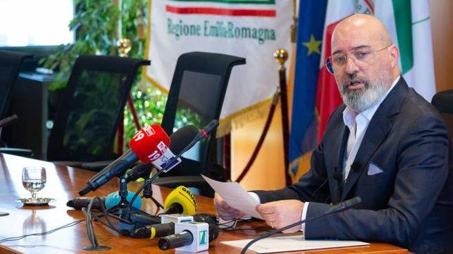 Il Governatore dell'Emilia Romagna, Stefano Bonaccini (Dire)