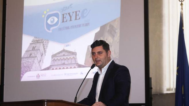 Il project manager di Eye Luca Taddei