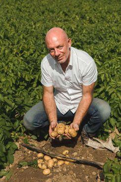 Matteo Todeschini, presidente di Agripat, società. che riunisce un migliaio di produttori di patate