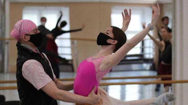 National Academic Bolshoi Opera and Ballet Theatre a Minsk, Bielorussia (Ansa)