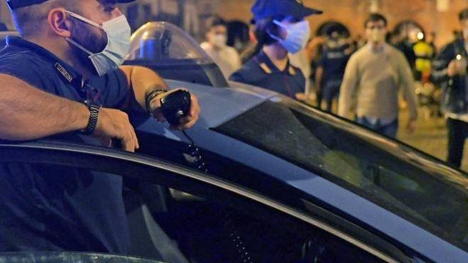 Controlli sulla movida pavese da parte della Polizia di Stato