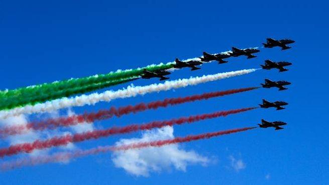 Frecce Tricolori, venerdì 29 maggio il sorvolo di Bologna (ImagoE)