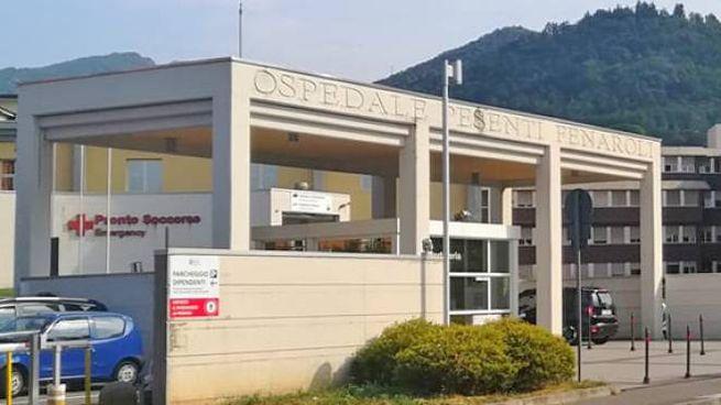 The hospital of Alzano Lombardo