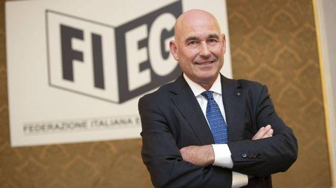 Andrea Riffeser Monti, il presidente della Fieg (Ansa)