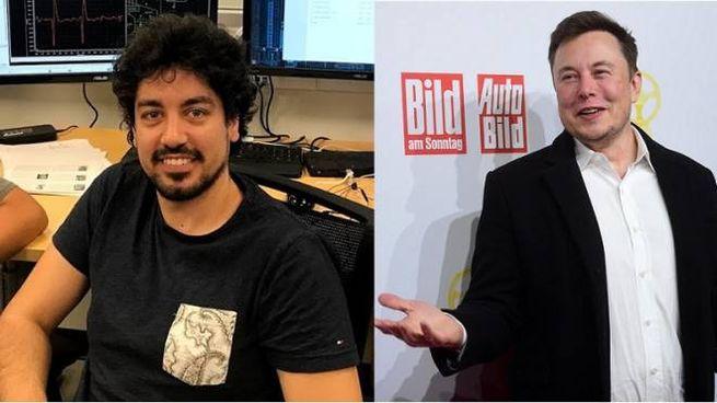 Dante Gabriel Muratore ed Elon Musk