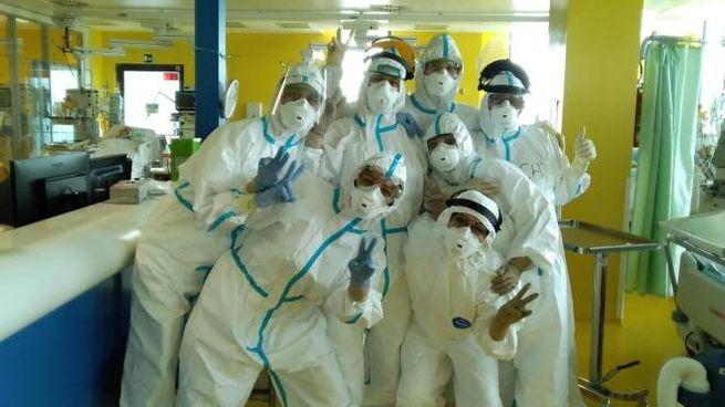 Il reparto di terapia intensiva Covid del Nuovo ospedale delle Apuane di Massa