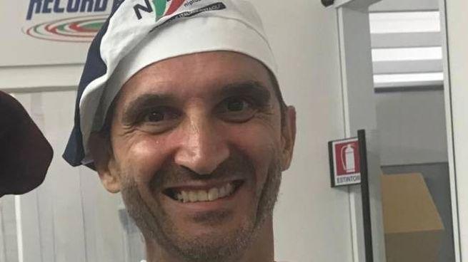 Michele Diotallevi, titolare della pizzeria 'Lele' di via Giolitti