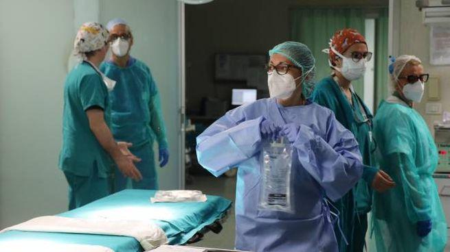 Coronavirus, pronto soccorso dell'ospedale Niguarda