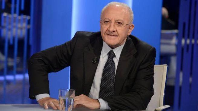 Il governatore della Campania Vincenzo De Luca (ImagoE)