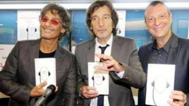 Claudio Cecchetto, 68 anni, insieme a Fiorello ed Amadeus