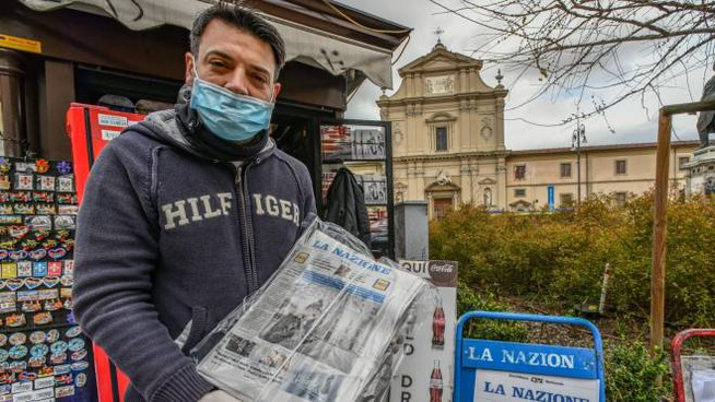 A newsagent (photo Germogli)