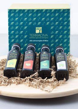 Alcuni prodotti dell'azienda biologica Terradiva. Sotto Guido Bastianini, nuovo ad di Banca Mps