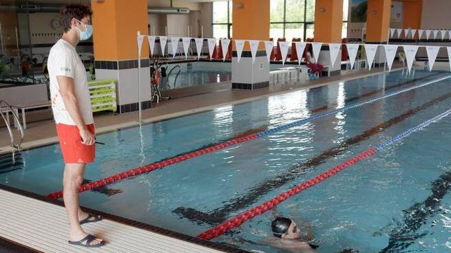 La piscina del centro sportivo di Gorgonzola