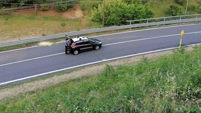 Incidente mortale sulla Futa, sul posto i carabinieri