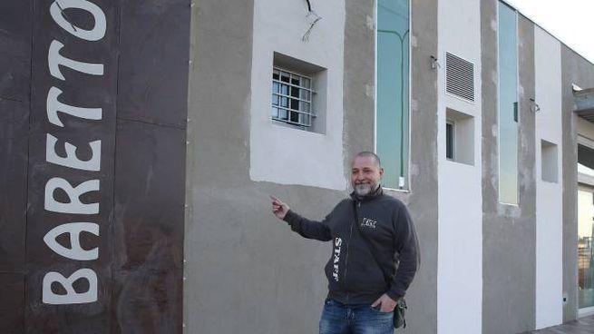 Alberto Moretti, gestore del Baretto (Zani)