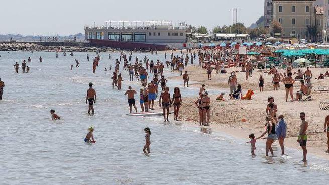 Pesaro, la spiaggia (Fotoprint)