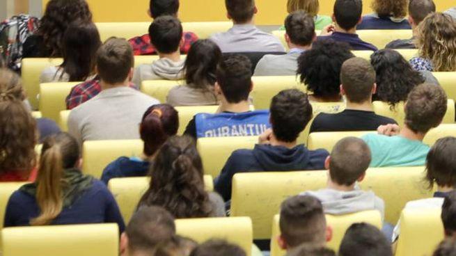 Un'aula universitaria (Foto di repertorio Bove)