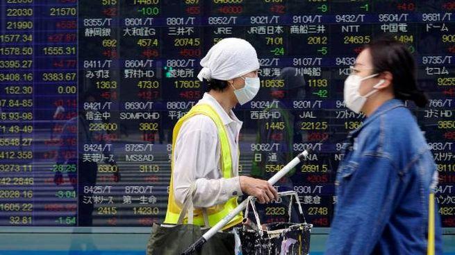 Indici di Borsa (foto Ansa)