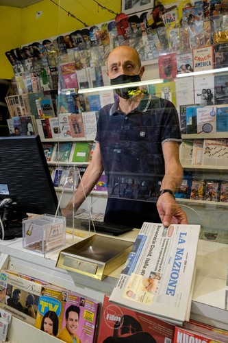 The big business of newsstands. Distribute 826 thousand masks. Today the supplies