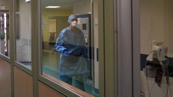 Il Pronto Soccorso dell'ospedale di Codogno (Ansa)