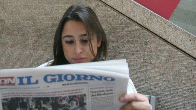 """Fra i tanti lettori del """"Giorno"""", fondato nel 1956, anche molti giovani"""