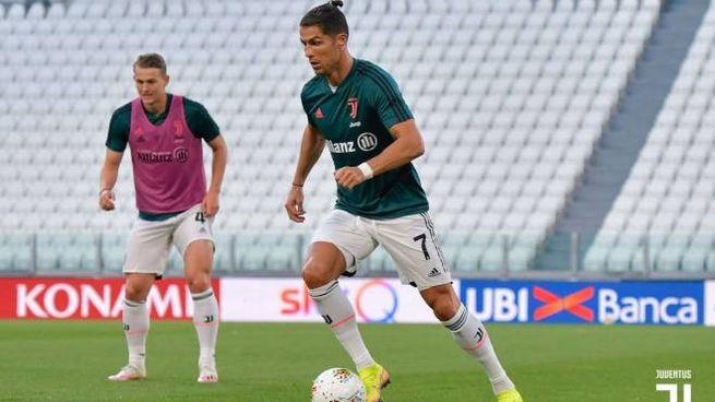 Ronaldo all'Allianz Stadium