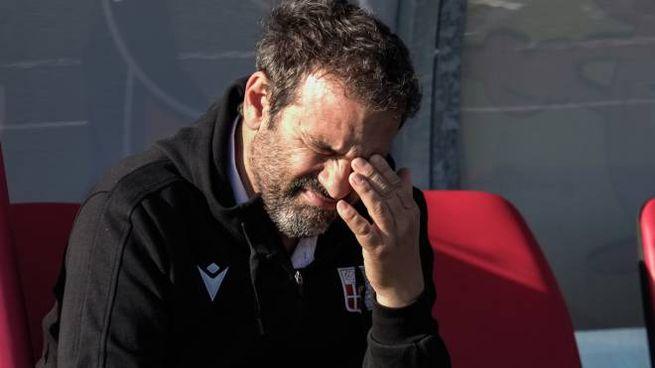 Giovanni Colella, allenatore del Rimini (Foto Petrangeli)