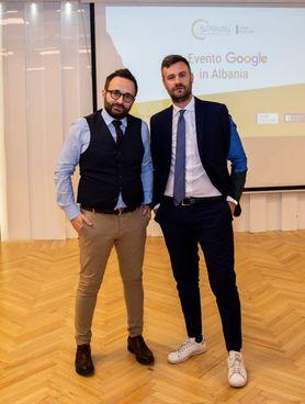 I DUE SOCI Costantino Pinelli e Benjamin Guidi