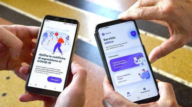 The Immuni app on your mobile (Ansa)