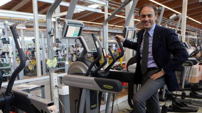 Nerio Alessandri, 59 anni, il fondatore e presidente di Technogym (foto Ravaglia)
