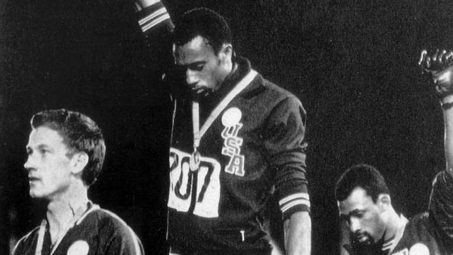 Tommie Smith a Messico '68