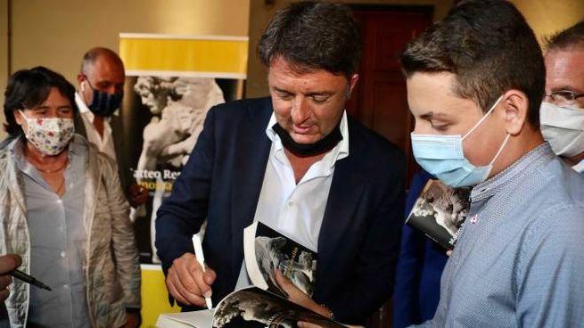 Matteo Renzi presenta il suo libro 'La mossa del cavallo' (Newpress)