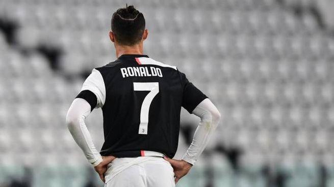 Juventus, Cristiano Ronaldo (foto Ansa)